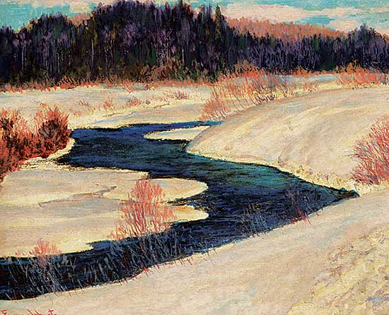 #38 ~ Johnston - Coming Spring, Sturgeon River Country
