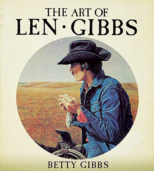 #1521 ~ Gibbs - The Art of Len Gibbs