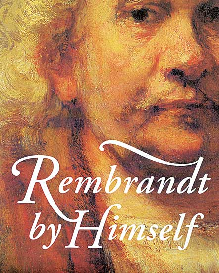 #1567 ~ Rembrandt - Rembrandt by Himself
