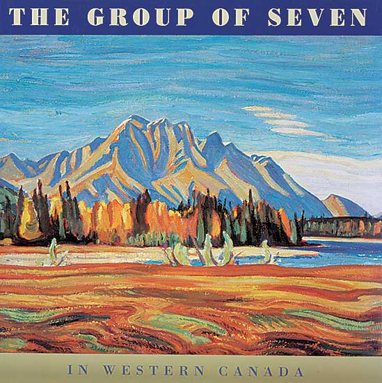 #1587 ~ School - The Group of Seven in Western Canada