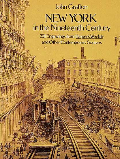 #1595 ~ School - New York in the Nineteenth Century: 321 Engravings from Harper's Weekly and Other Contemporary Sources