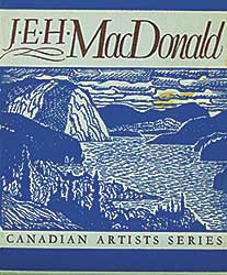 #1551.1 ~ MacDonald - J.E.H. MacDonald - Canadian Art Series