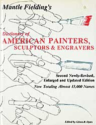 #1592 ~ School - Dictionary of American Painters, Sculptors and Engravers [Second Edition]