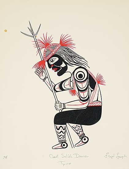 #39 ~ Joseph - Coast Salish Dancer Tyee