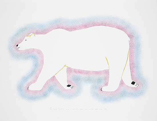 #189 ~ Inuit - Untitled - Bear  #14/50