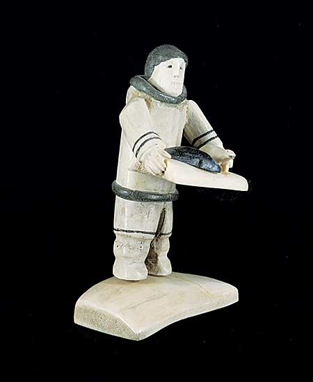 #193 ~ Inuit - Untitled - Presenting My Finished Carvings