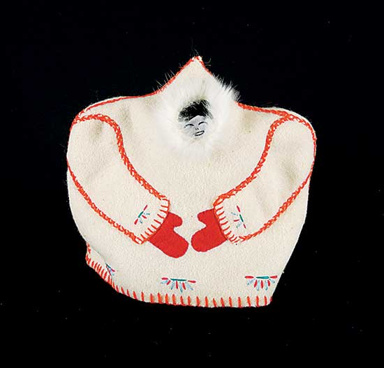 #244 ~ Inuit - Untitled - Happy Inuk, Tea Cozy