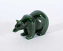 #232 ~ Inuit - Untitled - Small Green Bear