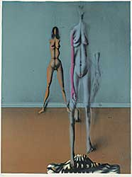 #1320 ~ Wunderlich - Untitled - Two Figures  #117/200