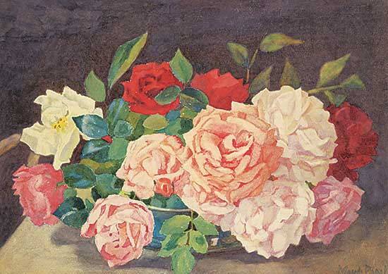 #14 ~ Paget - Untitled - Still Life with Roses