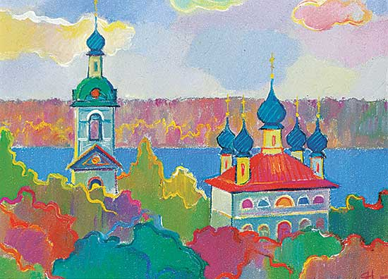 #22 ~ School - Untitled - The Colourful Steeples