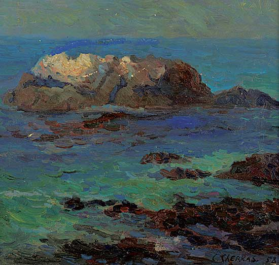 #1035 ~ Cherkas - Untitled - Rocky Coast
