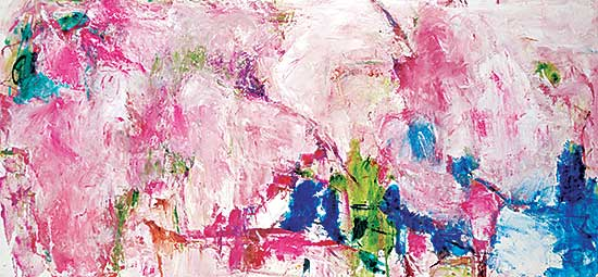 #1068 ~ Fair - Untitled - Clouds of Abstract Pink