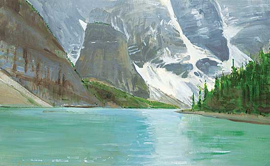 #1069 ~ Fenton - Mountain Gloom, Moraine Lake