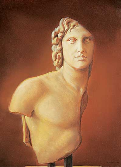 #1190.1 ~ Prakash - Alexander the Great [bust known as l'Inopos]