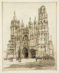 #1009.2 ~ Armington - La Cathedrale de Rouen