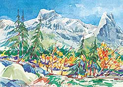 #1033 ~ Cadman - Mt. Lougheed, Bow Valley