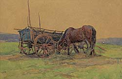 #1260 ~ Shaw - An Old Sussex Wagon