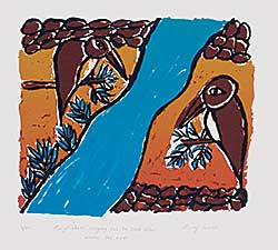 #417 ~ Cowan - Kingfishers Singing Out to Each Other Across The River  #3/20