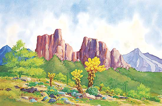 #1067 ~ Campbell - Untitled - Cholla