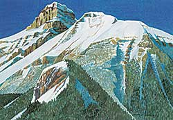 #1006 ~ Angliss - First Snow, Rogers Pass