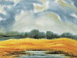 #1043 ~ Blodgett - Untitled - Golden Field