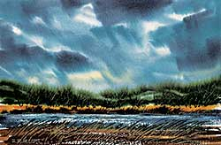 #1044 ~ Blodgett - Untitled - Stormy Skies