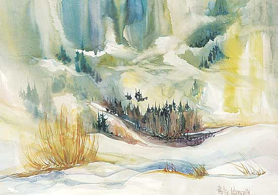#1239 ~ Margolin - Untitled - Mountain Thaw