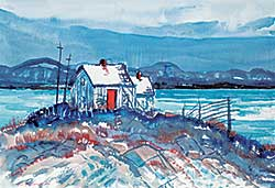 #1235 ~ MacDonald - Untitled - House in the Cove