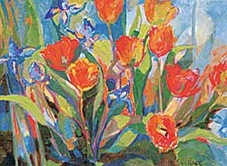 #1417 ~ Wallace - Untitled - Tulips