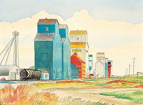 #21 ~ Brosz - Elevators at Nanton [#29]
