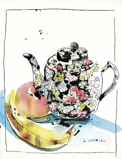 #23 ~ Cormack - Teapot with Banana