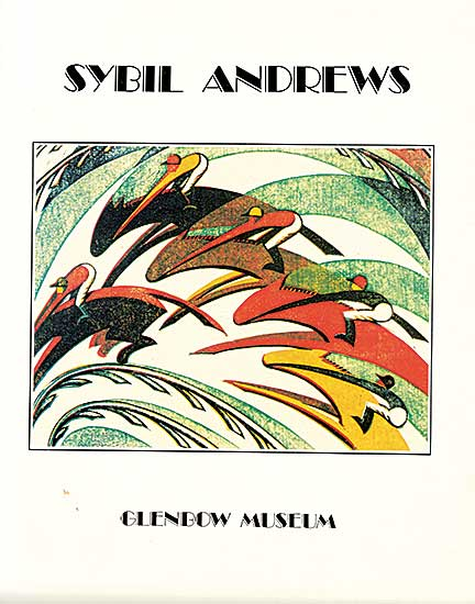 #202 ~ Andrews - Sybil Andrews: Colour Linocuts