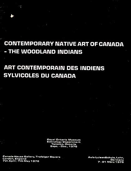#354 ~ School - Contemporary Native Art of Canada - The Woodland Indians