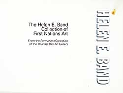#364 ~ School - The Helen E. Band Collection of First Nations Art