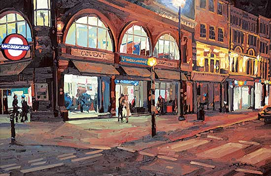 #107 ~ Wood - Covent Garden Station - London