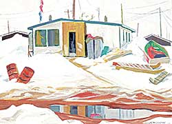 #57 ~ McCarthy - Untitled - Arctic Settlement