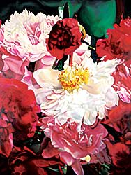 #61 ~ Nagy - Peonies for the Third Millennium