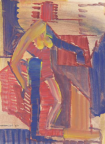 #226 ~ Nicoll - Untitled - Figure Study