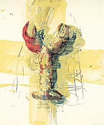 #239 ~ Scherman - Untitled - Lobster