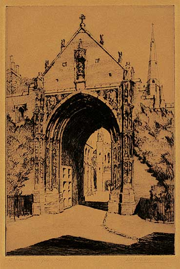 #401 ~ Andrews - The Erpingham Gate, Norwich