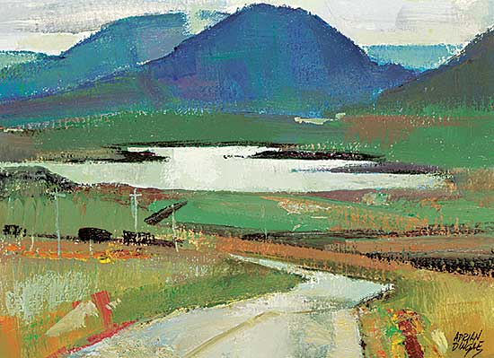 #436 ~ Dingle - Toward the 12 Bens, County Galway, Eire