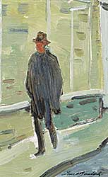 #413 ~ Bouchard - A Study of a Man Walking [Quebec City]