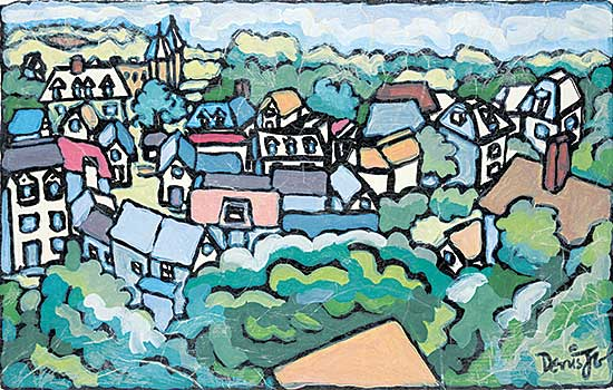 #1084 ~ Guay - Untitled - The French Village