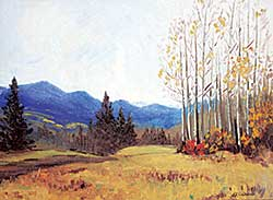 #1155 ~ Lawrence - Untitled - Foothills Scene