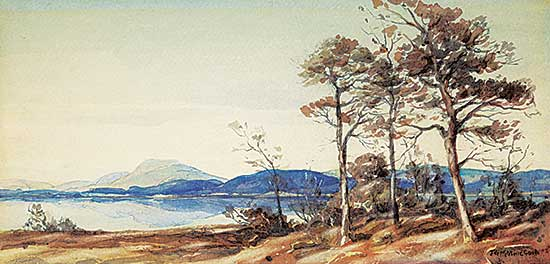 #1178 ~ Mathieson - Untitled - Scottish Moorland Loch