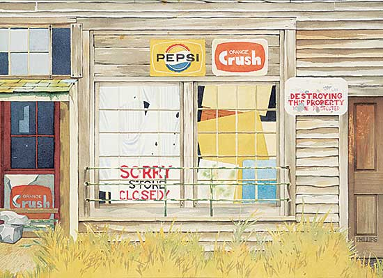 #1253 ~ Phillips - Untitled - Old Country Store