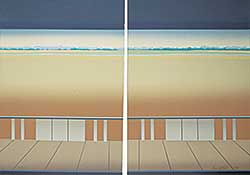 #1184 ~ McCall - Diptych  #18/30