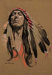 #1233 ~ Palmer - Untitled - The Chief
