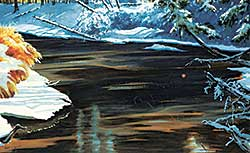 #1344 ~ Smith - Untitled - Winter River